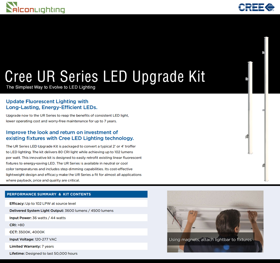 Cree UR Series Upgrade Kit